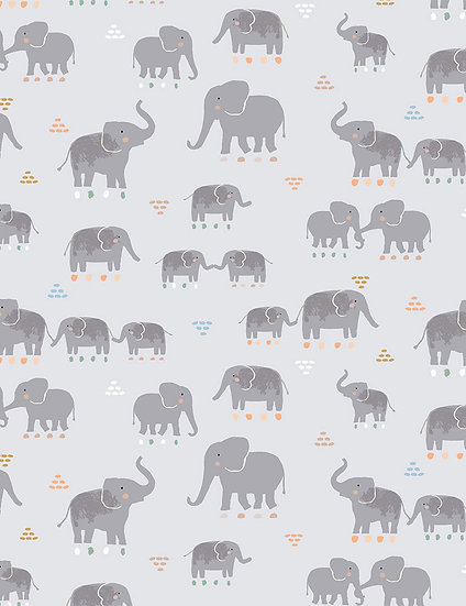 "Call of the Wild ""Tusk"" for Dear Stella - Fabric by the Yard"