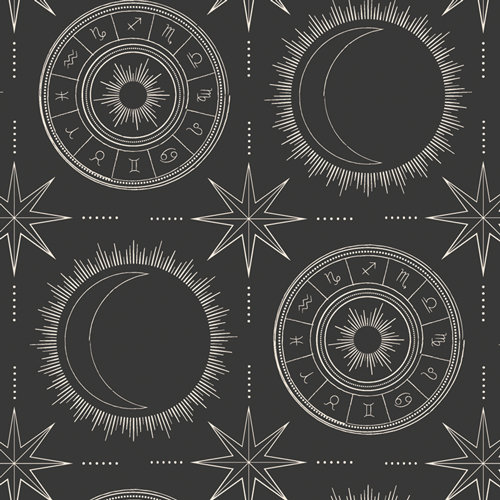 """Luna & Laurel """"Esoteric Alignment"""" AGF - Fabric by the Yard"""