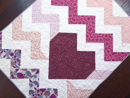 Hearts and Half Square Triangles