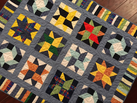 A New Adventure: Grayson's Quilt