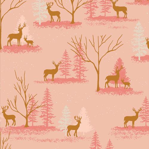 "Cozy & Magical ""Deer in Winterland"" Designed by Maureen Cracknell"