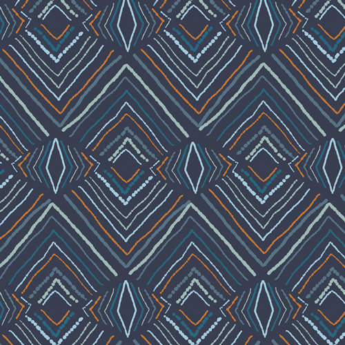 """Little Forester """"Wavelength Forester"""" AGF - Fabric by the Yard"""