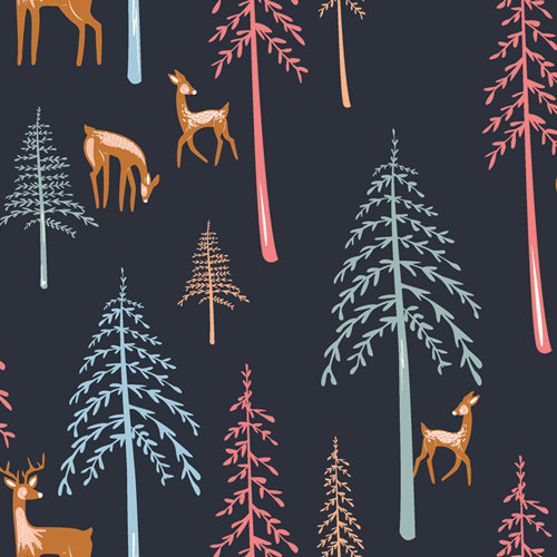 """Little Forester """"Among the Pines Forester"""" AGF - Fabric by the Yard"""