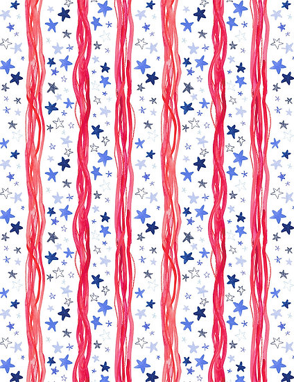 "American Summer ""Stars & Stripes"" for Dear Stella"