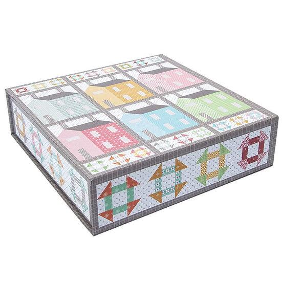 Boxed Quilt Kit - Prim Village by Lori Holt