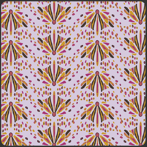 Into the Wild Lilac by Bari J. for AGF - Fabric by the Yard