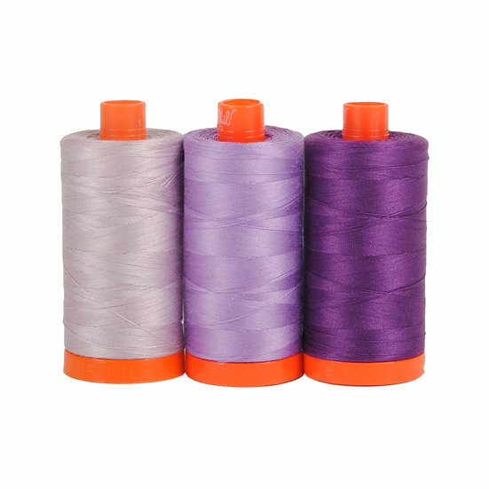 Aurifil Color Builder Thread Box - Amalfi Purple