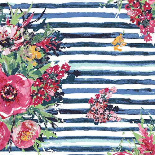 """Aquarelle """"Plein Air Bouquet"""" AGF - Fabric by the Yard"""