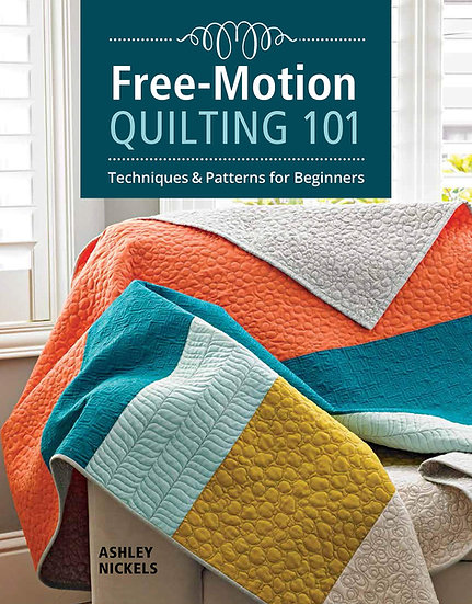 Free-Motion Quilting 101 Book