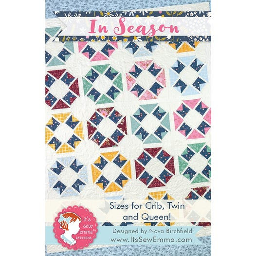 In Season Quilt Pattern by It's So Emma