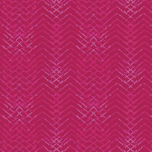 "Aquarelle ""Tachisme Magenta"" AGF - Fabric by the Yard"