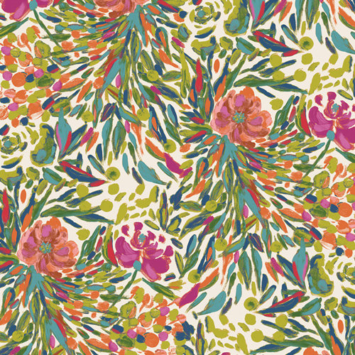Bloomsbury Writer's Garden Petal Designed by Bari J. Fabric by the Yard