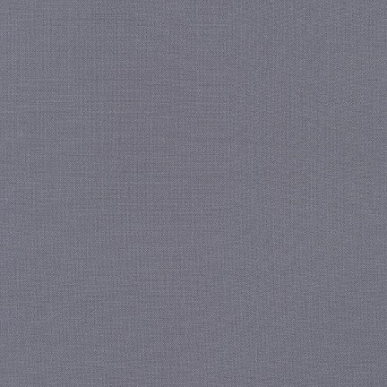 Kona Cotton Solids in Medium Grey