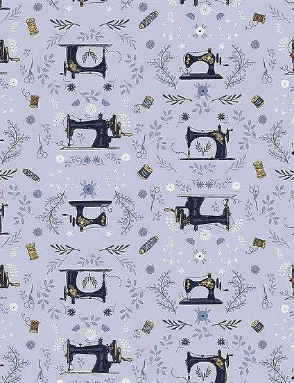 """Sew On & Sew Forth """"And Sew It Begins"""" for Dear Stella - Fabric by the Yard"""