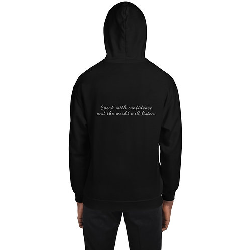 Unisex Hoodie with quote