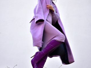 Ultra violet - STYLELIZ . elisabeth karatsoki present the velvet boots siderisshoes
