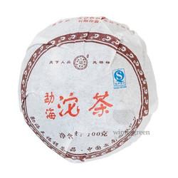 Чай китайский элитный Шу пуэр Фабрика Тяньфусян сбор 2006 г.