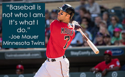 Baseball is not who I am