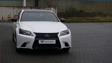 Lexus GS250 Car Wrapping Wrexham.JPG