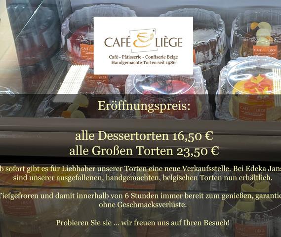 Ab sofort gibt es eine neue Verkaufsstelle bei Edeka Jansen.