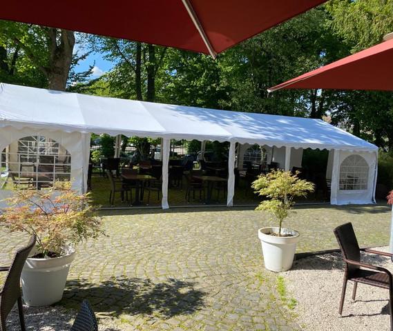 Missio Außenbereich Zelt