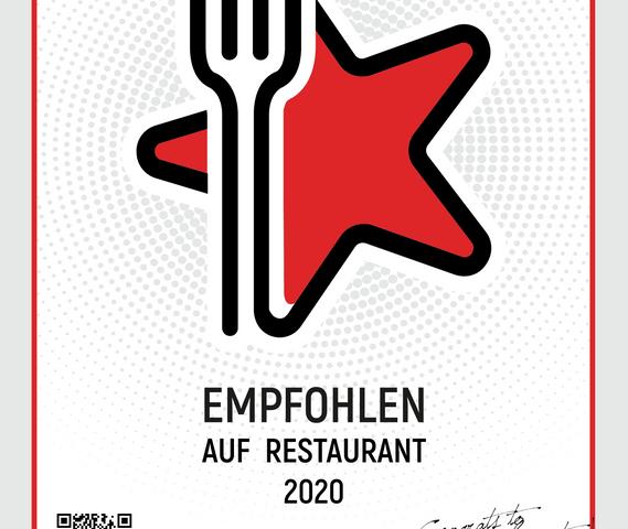 Zertifikat Restaurant Guru