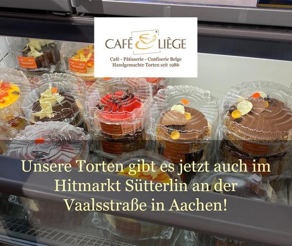Unsere Torten gibt es jetzt auch im Hitmarkt Sütterlin!