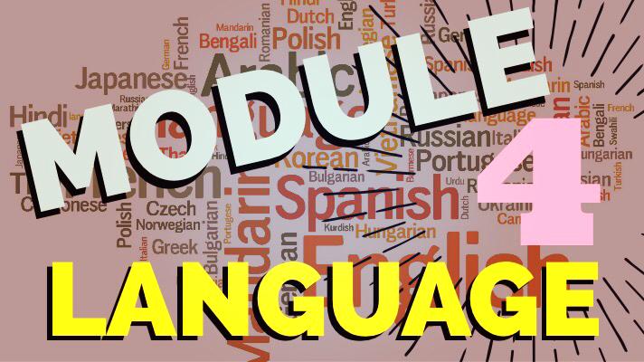 Discussion 4: Language