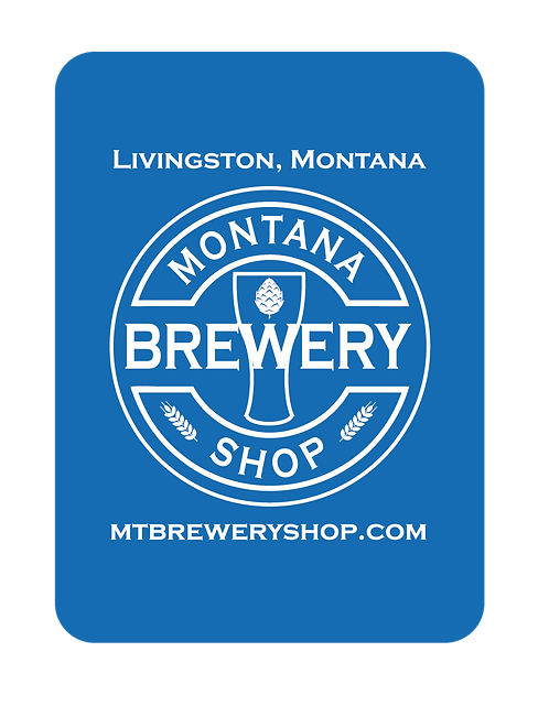 Montana Brewery Shop Playing Cards
