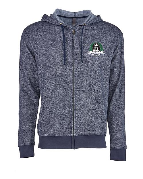 Neptune's Zip Up Hooded Sweatshirt
