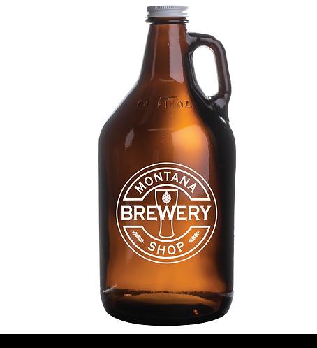 Montana Brewery Shop Glass Growler