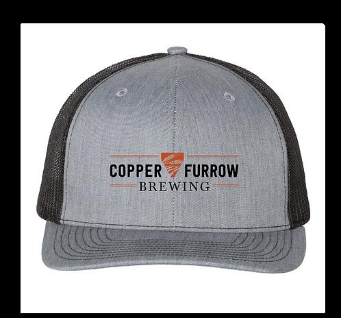 Copper Furrow Logo Trucker Hat