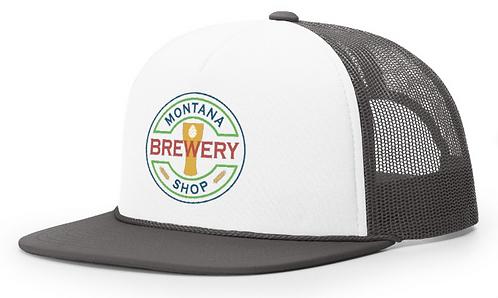 MT Brew Shop Logo Foam Trucker Hat