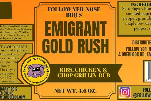Emigrant Gold Rush Rub