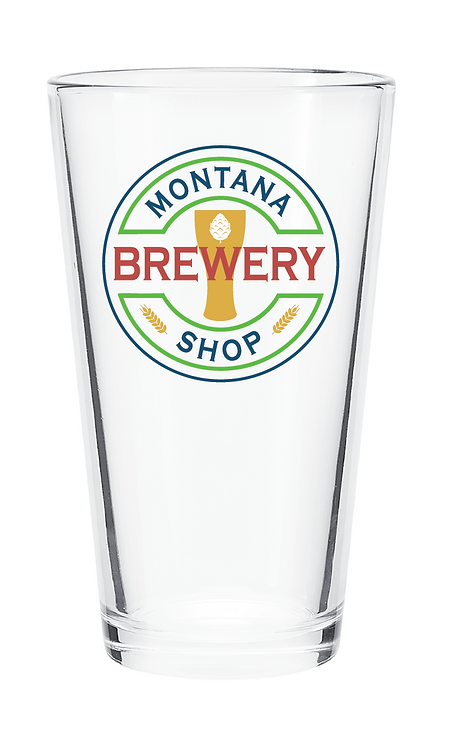 Montana Brewery Shop Pint Glass