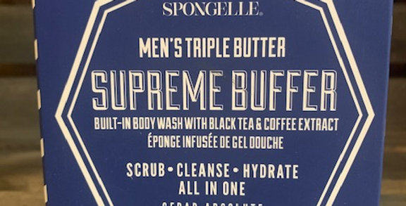 Spongelle Mens Triple Butter