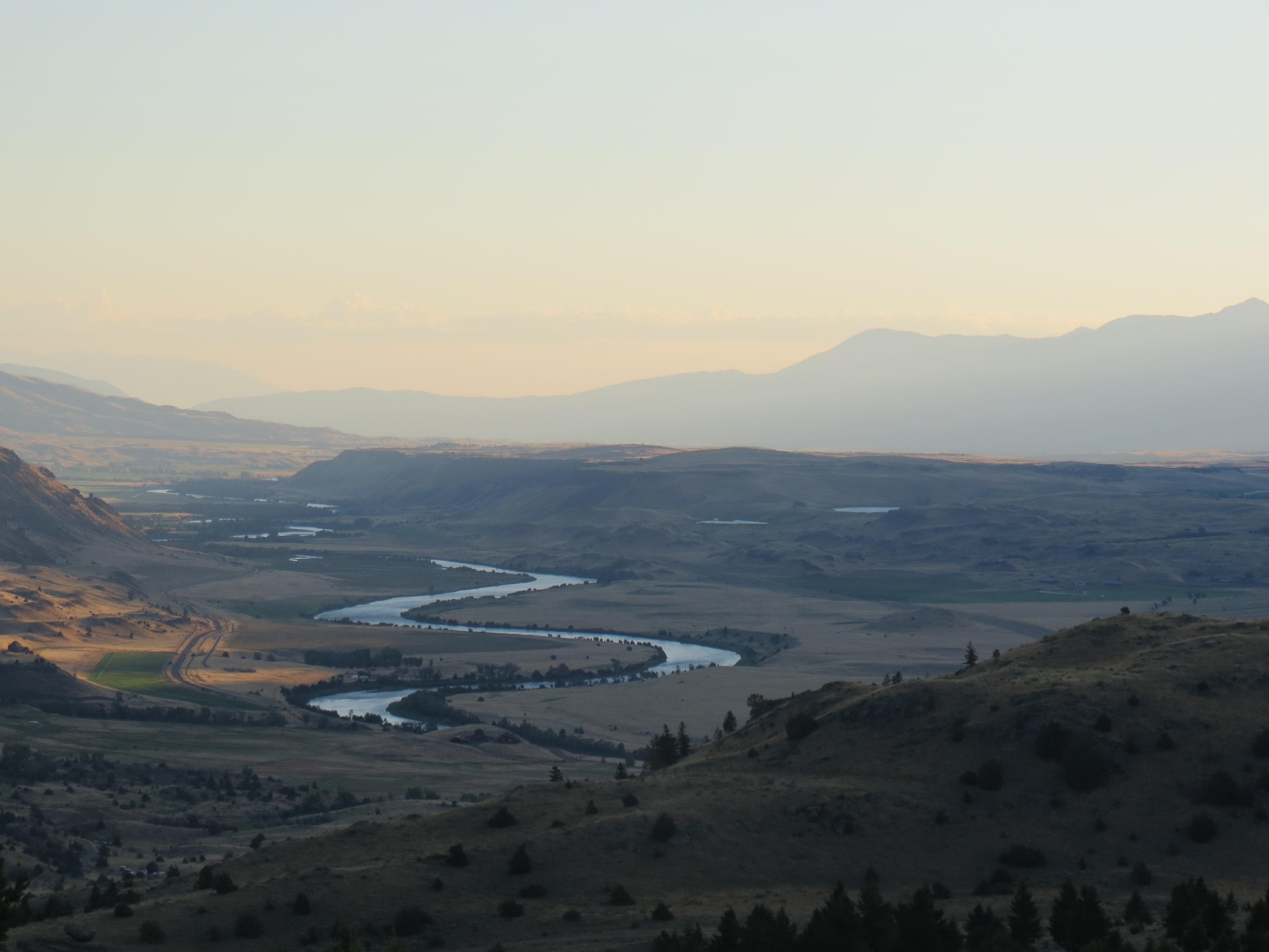 Paradise Valley and the Yellowstone River (2)