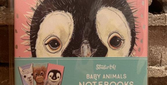 Baby animal note books