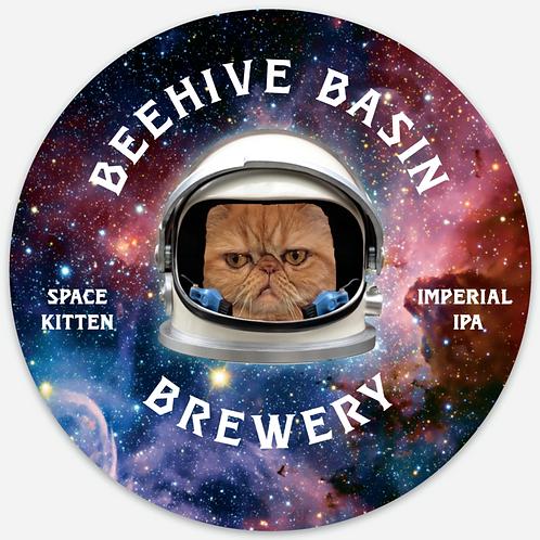Beehive Basin Space Kitten Sticker