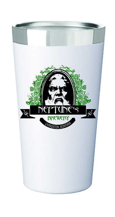 Neptunes Stainless Steel Thermal Pint Glass