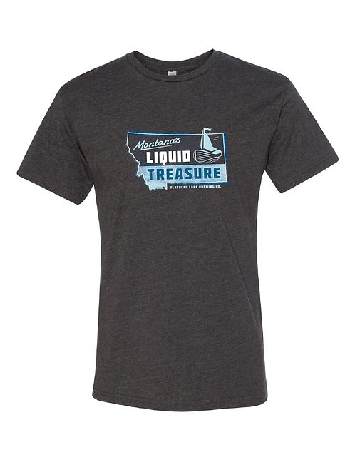 Flathead Lake Brewing Liquid Treasure T-Shirt