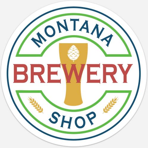 Montana Brewery Shop Sticker