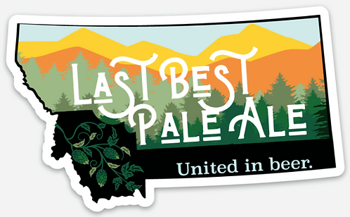 MBA Last Chance Pale Ale Sticker