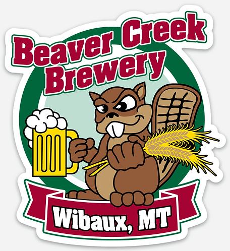 Beaver Creek Die Cut Sticker