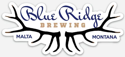 Blue Ridge Brewing Die Cut Sticker