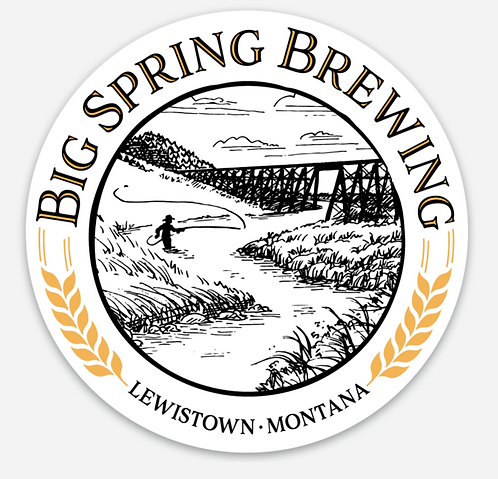 Big Spring Brewing Sticker