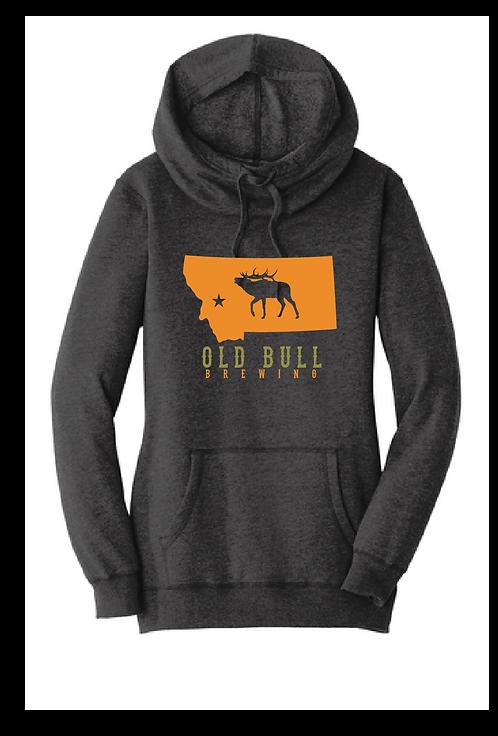 Old Bull Brewing Women's Hoodie