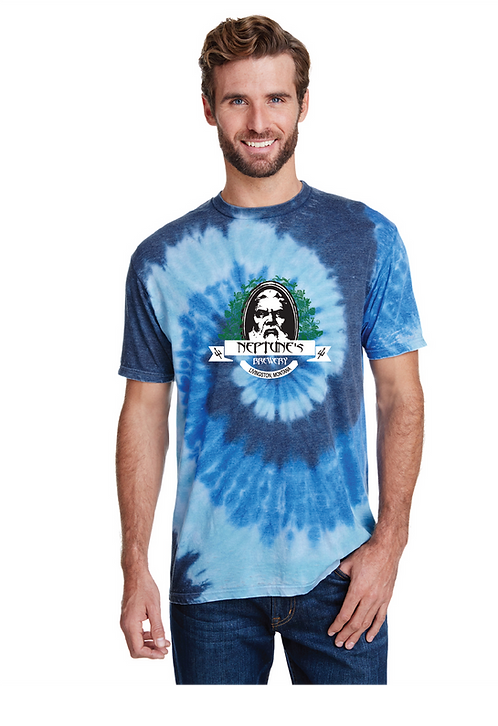 Neptune's Brewery Tie Dye T-Shirt