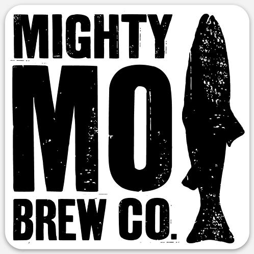 Mighty Mo Logo Sticker
