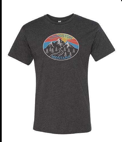 Livingston MT Mountain Sunshine Unisex T-Shirt